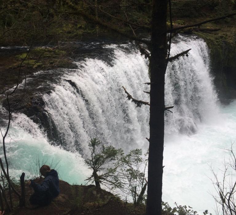Spirit Falls near White Salmon, Washington