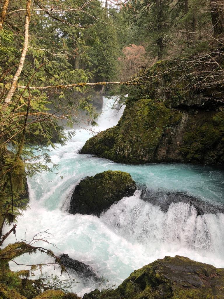 Spirit Falls in Washington