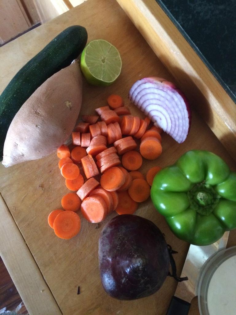 Vegan Camping Ingredients