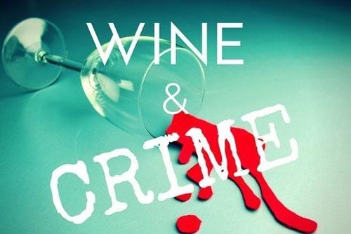 wine and crime logo