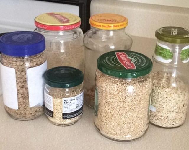mismatched bulk jars