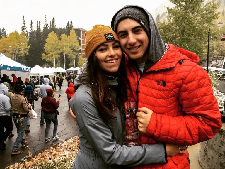Oktoberfest in the fall at Snowbird Resort in Utah