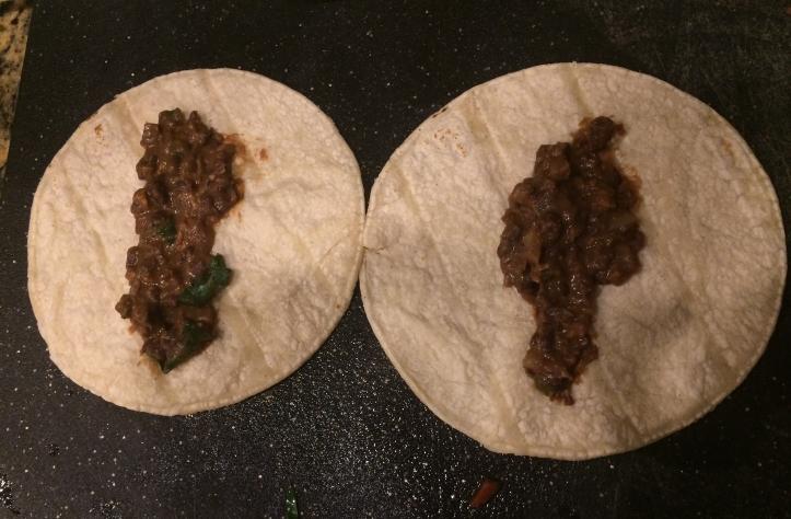 black bean taquitos