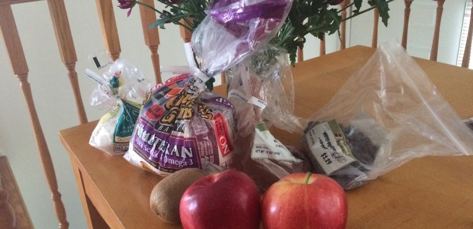 bulk grocery shopping