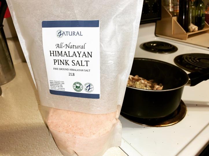 Zatural Pink Himalayan salt