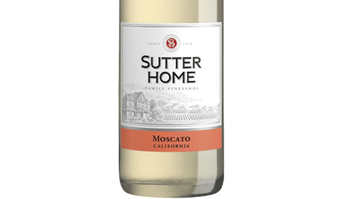 Vegan Sutter Home Moscato