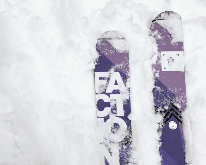 faction skis touring in utah