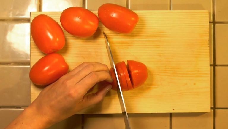 Fresh tomatoes for pico de gallo