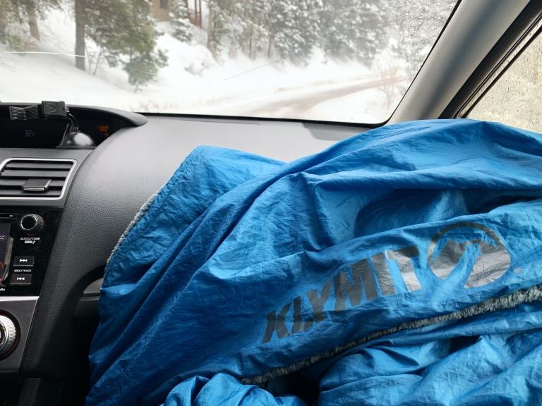 klymit versa luxe sleeping blanket