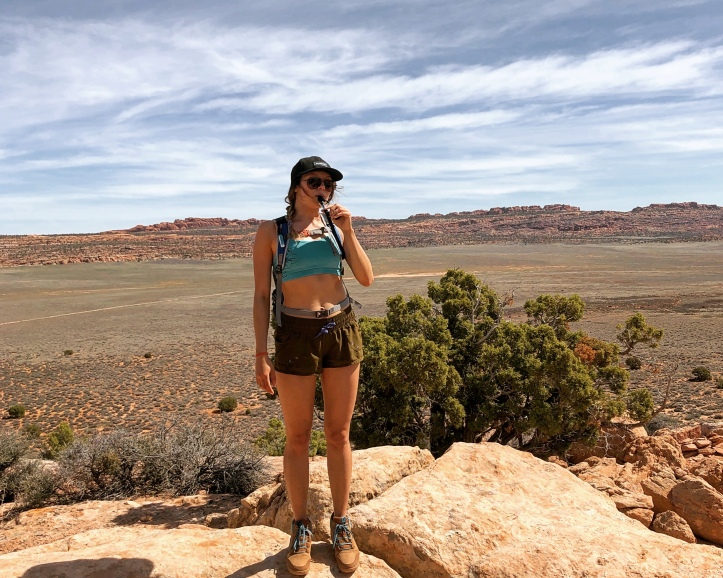 water for hiking in southern utah
