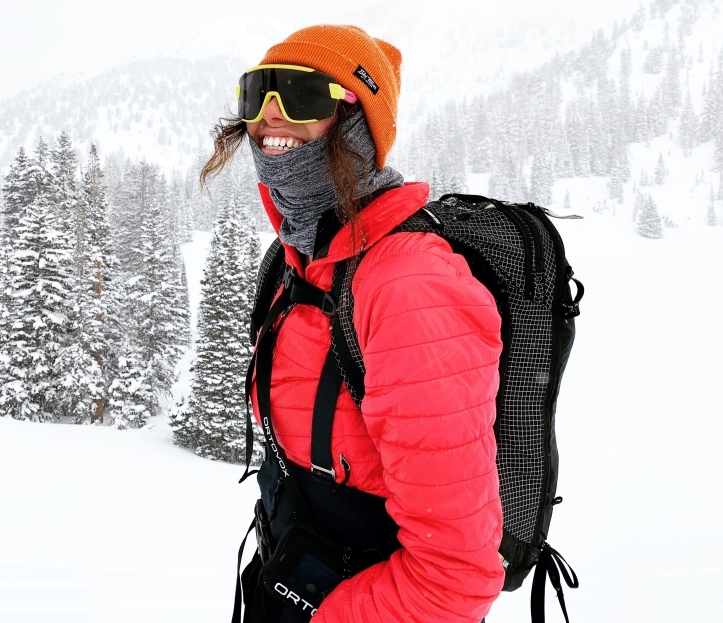 thrifted gear for backcountry skiing