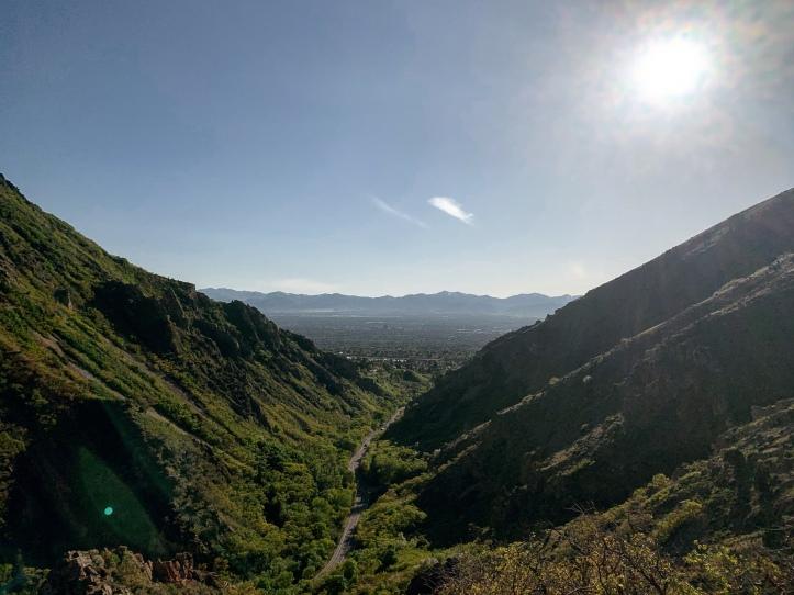 millcreek canyon in the spring in salt lake city, Utah