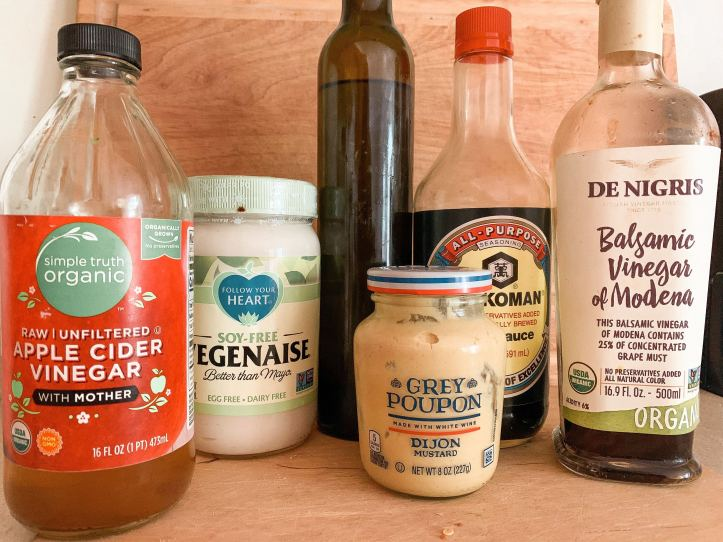 dressings for plant-based salads
