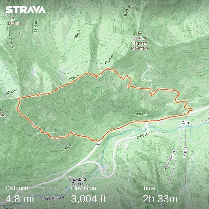Mount Superior technical scramble route