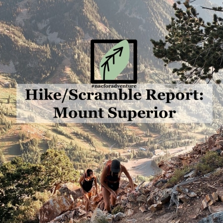 mount superior hike/scramble report