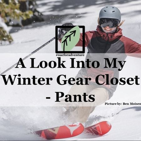 a look into my winter gear closet- snow pants