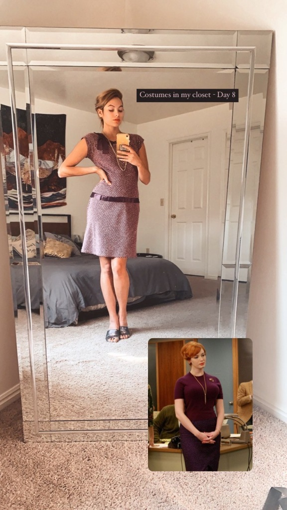Joan Holloway Costume- Mad Men