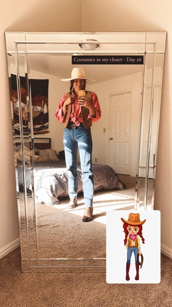 Cowgirl Costume - Standard Halloween Costume