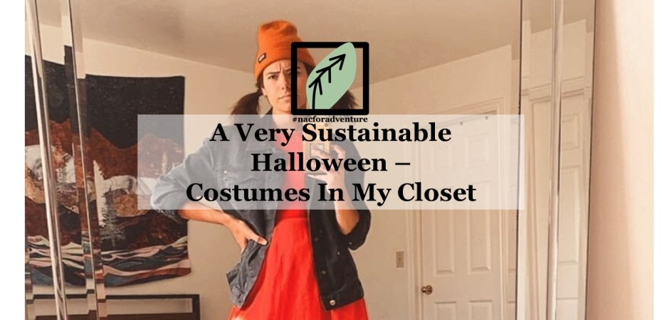 a very sustainable halloween - costumes in my closet