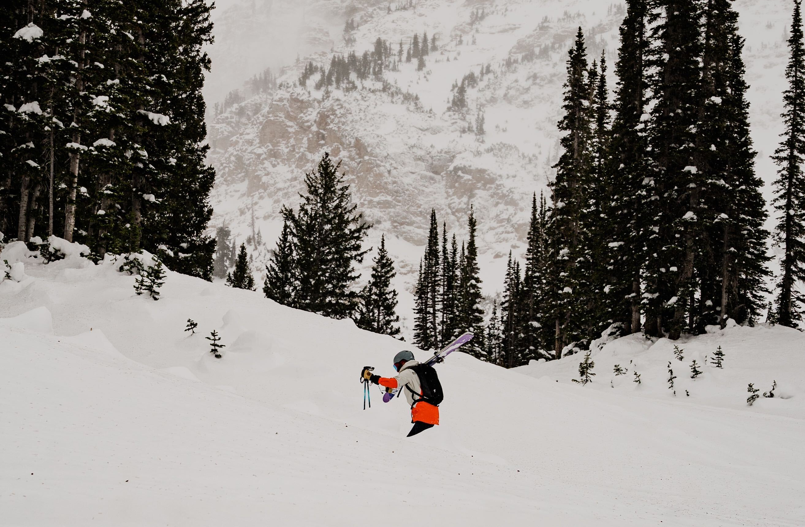pre season skiing at alta, utah