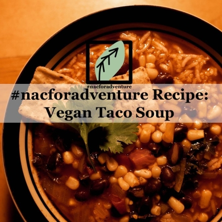 vegan taco tortilla soup recipe