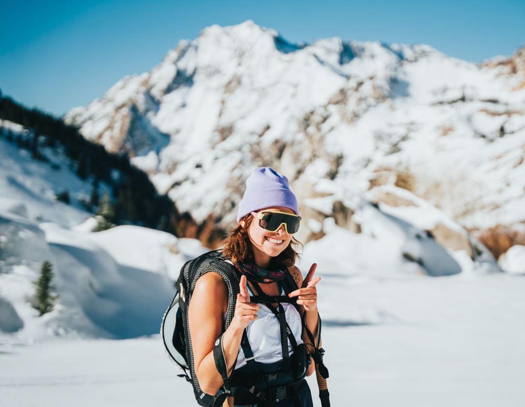 ski style at alta, utah