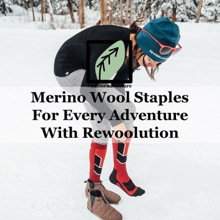 Merino woold staples for every adventure with Rewoolution